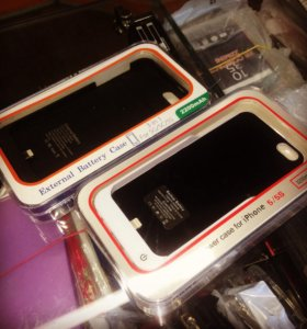 Чехол аккумулятор iPhone 5,5s