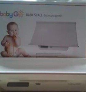 Детские весы Baby Go
