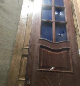 Двери испанские под стекло 70\ 200