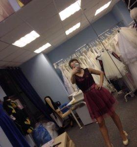 👌новое короткое платье