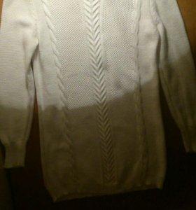Новый свитер хлопок