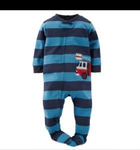 Пижамы слипы мальчикам картерс