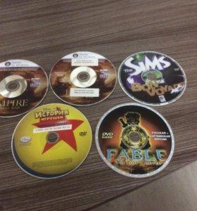 Диски для PC игры