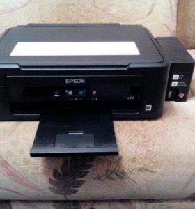 Принтер сканер EPSOH L210