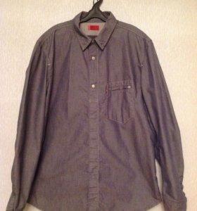 Джинсовые рубашки Levis и Benetton