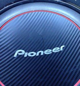 Сабвуфер pioneer 300wt 4 om 12d(30см)