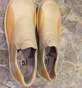 Мужские летние туфли 44 размер новые