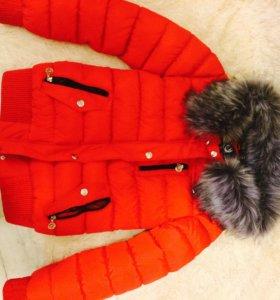 Зимний пуховик (очень тёплый!)