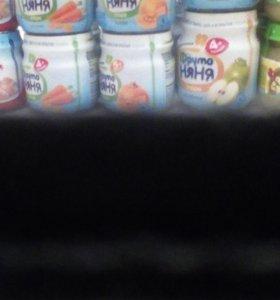 Срочно!Детское пюре меняю на молоко или соки!