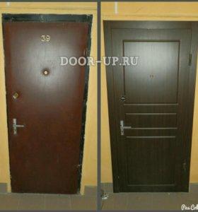 Ремонт дверей, монтаж МДФ панелей, обивка дверей