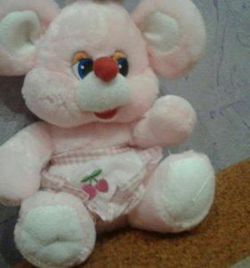 Милая Розовая мышка