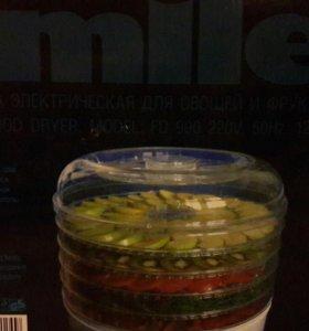 Сушилка электрическая для овощей и фруктов Smile