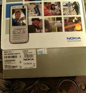 Оригинальная коробка от Nokia N73 music
