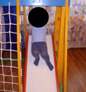 Детский развивающий спортивный комплекс