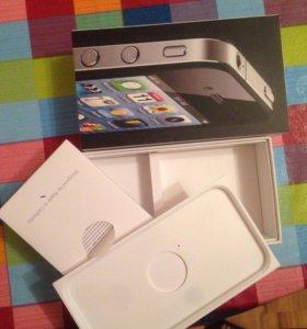 Коробка на iPhone 4