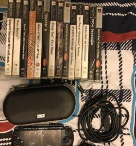 Продам PSP и периферию к ней