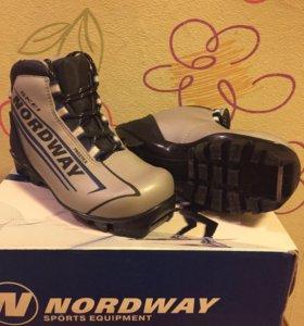 Лыжные ботинки 33 размера