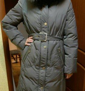 Пальто пуховое Snowpop. Новое