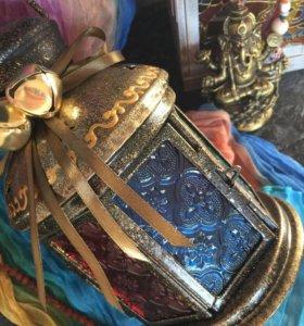 Витражный фонарик фонарь марокканский стиль
