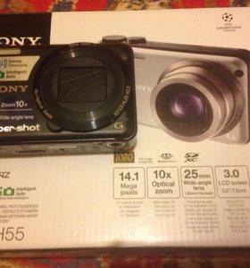 Цифровой фотоаппарат Sony Syber- shot DSC-H55
