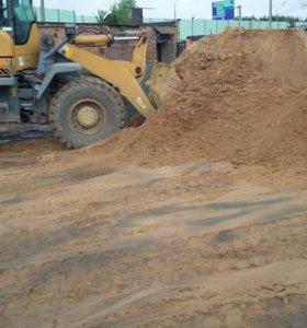Доставка песка, щебня, дров