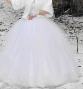 Продам платье, шубку и креналиновую юбку