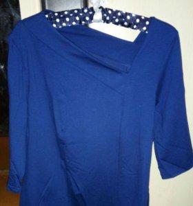 Блузка с оригинальным вырезом!