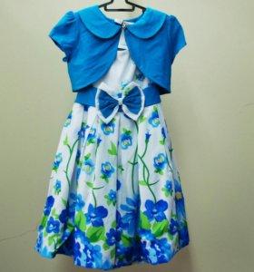 Платье+болеро новое