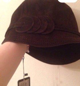 """Женская  замшевая шляпа """"Клош New"""""""