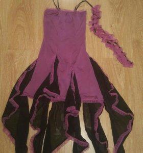 Платье для спортивных бальных танцев