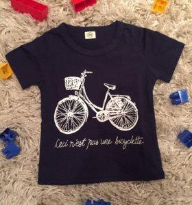 НОВАЯ! футболка 80-86