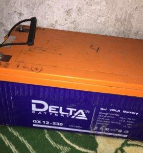 Аккумулятор Delta gx12-230 12v