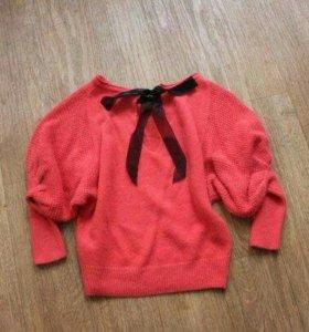 Пуловер ангора новый