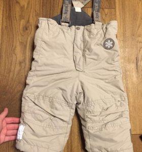 Зимние штаны 80 рост
