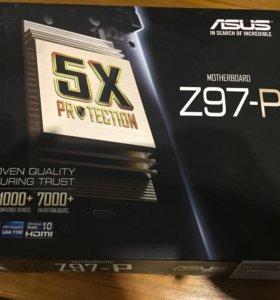 Asus Z97-P LGA 1150, ATX, Ret Игровая материнка