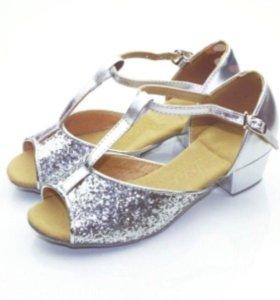 Туфли для спортивно -бальных танцев
