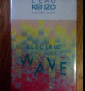 Kenzo electric wave лимитка 50 мл женские