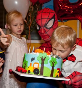 Аниматор на детский день рождения