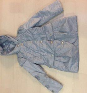 Куртка утеплённая весна-осень, рост 134