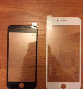 3D защитные стекла на iPhone 6/7
