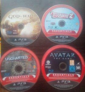 Лецинзионные диски с играми на PS3