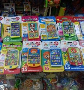 Смартфоны (мультиплееры) детские