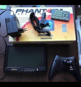 Автомобильный телевизор Phantom 50 BB
