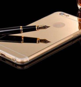 Зеркальные чехлы iPhone