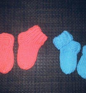 Носочки на навороченных малышей.