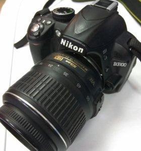 Заркальный фотоаппарат Nikon D3100