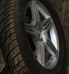 Комплект колёс на дисках