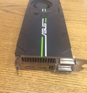 Видеокарта asus geforce GTX 680