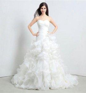 Свадебное платье 46-48р