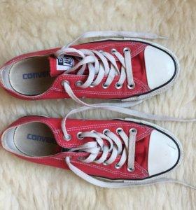 Оригинальные красные Converse